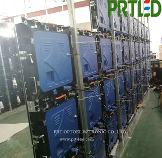 Indoor P2 Full Color LED Display Screen with Die-Casting 512 X 512 mm Panel